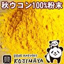 無添加 秋ウコン粉末(粉末状) 《1kg》本場インド産のクルクミン豊富な極上秋うこんを使用