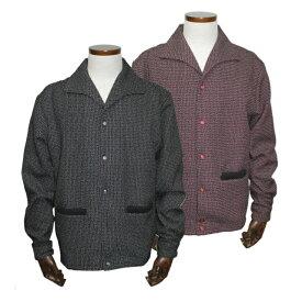 [送料無料]グッドロッキンCLS-109 ドビーシャツジャケットブラック/レッドGood Rockin