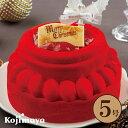 【クリスマス ノエル・ルージュ5号(直径15cm)】送料無料 クリスマスケーキ ショートケーキ 新宿Kojimaya クリス…