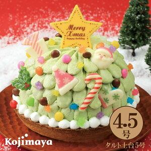 【クリスマスケーキ バナナショコラのツリードーム 4.5号】2021 x'mas バナナケーキ ピスタチオ かわいい 送料無料 早期 予約 贈り物 プレゼント クリスマス christmas クリスマスケーキ 小島屋
