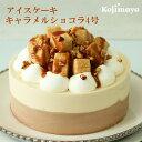 【アイスケーキ キャラメルショコラ4号(直径12cm)】 アイスケーキ アイスデコレーション 送料無料 お土産 贈り物 …