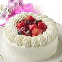 【苺と木の実のショートケーキ5号(直径15cm)】送料無料 お土産 贈り物 いちごのショートケーキ 小島屋乳業製菓 新…