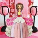 【ひなまつり ドールケーキ プリティ桃花ちゃん 4号(直径12cm)】ドール ドレスケーキ プリンセスケーキ チョコ…