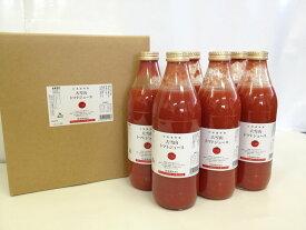 北海道 大雪山トマトジュース 無塩 (1000ml×6本)ジュース 野菜 人気 おいしい のみやすい 果汁 濃厚 無添加 毎日 大人 子供 国産
