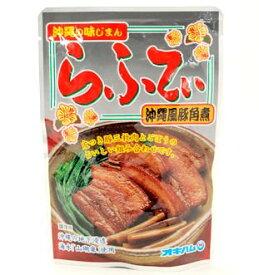 オキハム 沖縄の味じまん らふてぃ 沖縄風豚角煮 ゴボウ入り 165g×5個