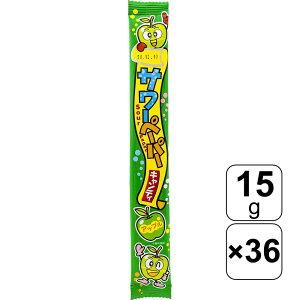 やおきん サワーペーパーキャンディ アップル 15g×36袋
