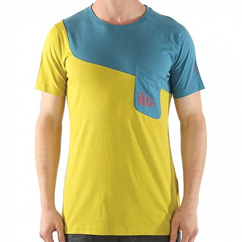 スポルティバ LA SPORTIVA Climbique T−Shirt Men / カラー Lake/Citronelle品番:H43607701
