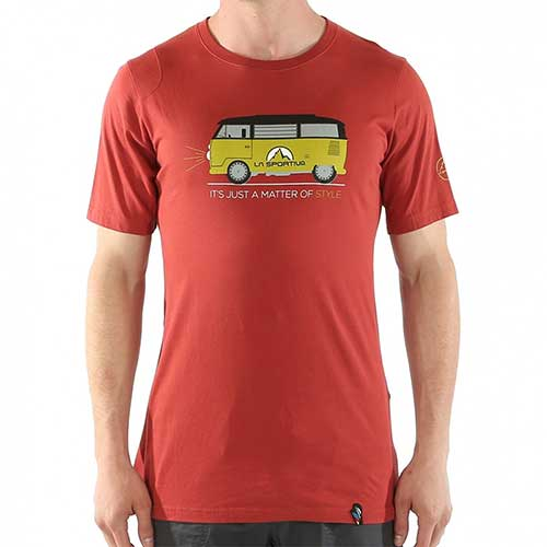 スポルティバ LA SPORTIVA Van T−Shirt Men / カラー Brick/Citronelle品番:H47305701