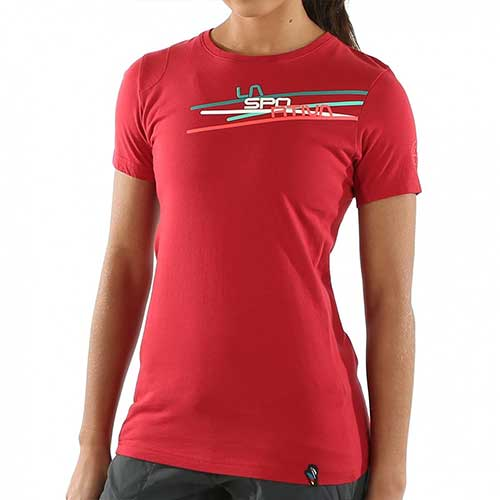 スポルティバ LA SPORTIVA Stripe 2.0 T−Shirt Women / カラー Berry品番:I50303303