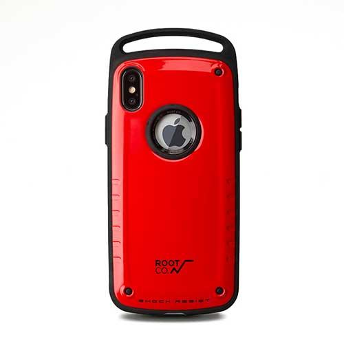 【ポイント10倍】ROOT CO. ルート Shock Resist Case Pro for iPhoneX RED GSP8【楽天スーパーSALE 2018/12/4 20:00〜12/11 1:59】