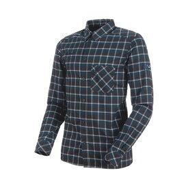 【ポイント5倍】マムート MAMMUT Belluno Tour Longsleeve Shirt Men black−marine 品番:1030-02600【送料無料】【2020/4/6 00:00〜4/9 08:59】