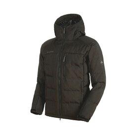 【ポイント10倍】マムート MAMMUT メンズ ダウンジャケット SERAC IN Hooded Jacket Men iguana 品番:1013-00680 cpmmt outlet【送料無料】【2019/11/14 18:00〜11/16 08:59】