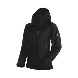 【クーポン】【ポイント10倍】マムート MAMMUT Ayako Pro HS Hooded Jacket Women black 品番:1010-26750【送料無料】 cpmmt 【2019/9/11 18:00〜9/24 09:59まで】 outlet