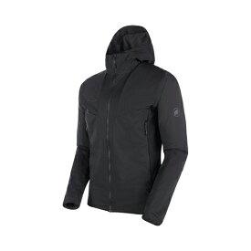 【クリアランス】MAMMUT マムート Rime Light IN Flex Hooded Jacket AF Men/black 1013-01300 MAM30P【送料無料】〔2020AW〕