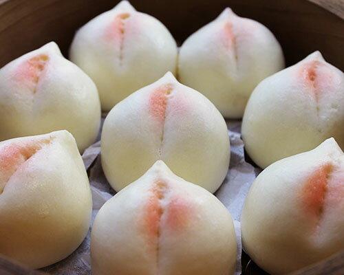 寿桃(桃まんじゅう)(小) 10個