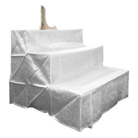 【あす楽】簡単組立!木製祭壇 三段 W84×H72.3×D81cm箱型掛布・写真立付き【盆用品】【祭壇用品】