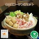 【2個以上で送料無料】 名古屋コーチン鍋セット もも肉・鶏肉団子・スープ付き【鍋】【お取り寄せ】【RCP】10P03Dec16