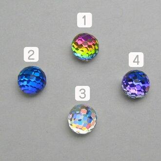 Sphere Swarovski #4861 Fancy Stone 8 x 8 mm bigs tone Swarovski special cut
