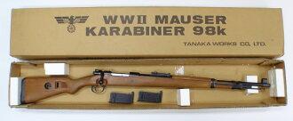 Tanaka Mauser Kar 98 k Karabiner carabiner GANGAN wood stock over 18 years for