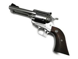 マルシン MARUSHIN ガスガン スーパーブラックホーク 4.62インチ シルバーABS 木製グリップ付 18歳以上 リボルバー 銃 サバゲー (062368)