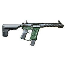ケーエスシーKSC電動ガンストラックERGライフルSTRACODグリーンフレーム銃サバゲー【限定品】(4544416243447)