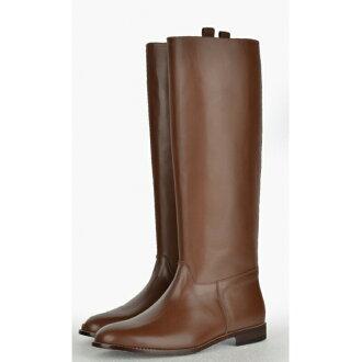 日本军官指挥 'stabswagen' 模型长鞋子靴子皮革棕色复制品