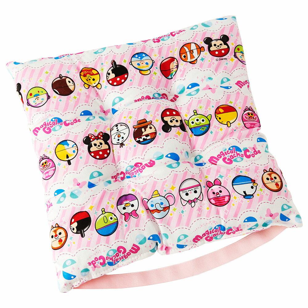 【ディズニー】 マジカルガチャコーデ ピンク 学童 クッション