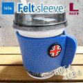 【bitte/ビッテ】FeltSleeve(L)イギリス国旗