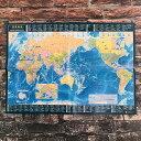 世界地図 A2 (メルカトル図法)  【東京カートグラフィック】