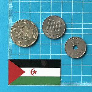 西サハラ国旗ステッカー・2S