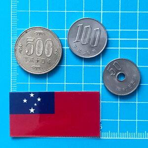 サモア(2S)国旗ステッカー