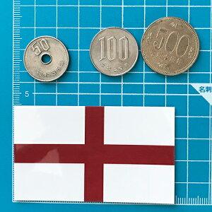 イングランド旗ステッカー<スーツケースや車にも貼れる世界の国旗シール>