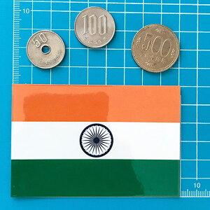 インド国旗シール