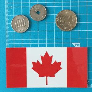 世界の国旗シール・カナダ