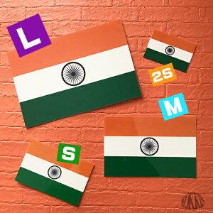 インド国旗デカール