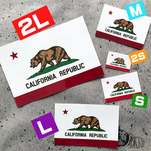 CALIFORNIAREPUBLIC】<スーツケースやスマホ・車にも貼れる世界の国旗シール>_kokkis