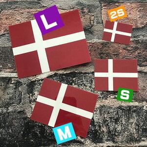 デンマーク国旗デカール