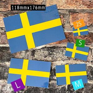 スウェーデン国旗デカール