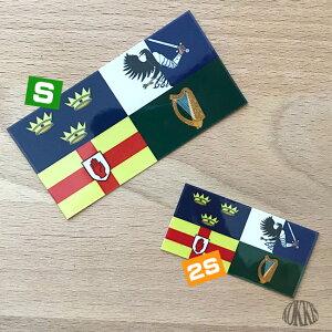 アイルランド(2S)国旗・旗ステッカー<スーツケースやスマホ・車にも貼れる世界の国旗シール>スペインカタルーニャ地方カタルーニャ州カタロニアバルセロナサニェーラ