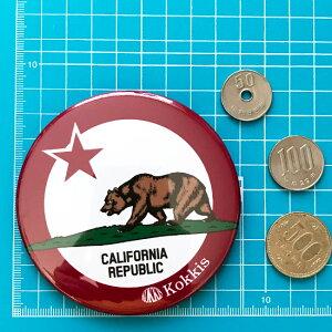 カリフォルニア州旗デザインのカンバッチ