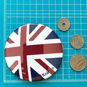 イギリス国旗デザインのカンバッチ