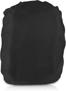 レインカバー ザックカバー 防水カバーリュック バッグパックレインカバー 雨よけ 通勤 通学 アウトドア活動 防水性能 防水 撥水 耐水圧 UVカット 軽量 Mサイズ 対応サイズ30-40L ブラック