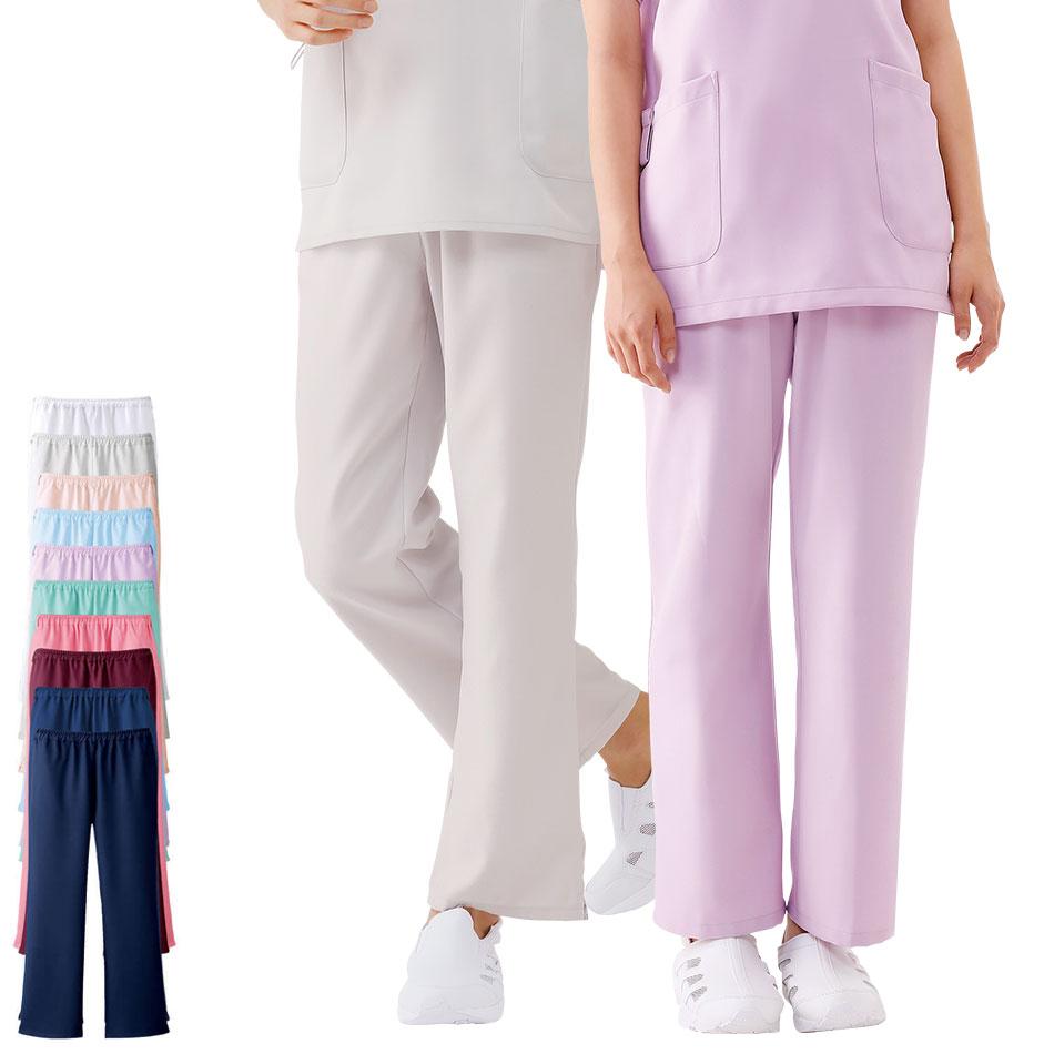 2132 エアリータッチスクラブパンツ【医療 ナース 看護 白衣 女性 男性】