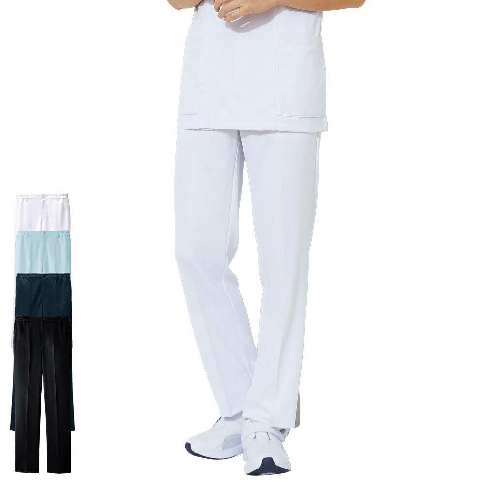 2135 アクティブストレッチ ベーシックストレートパンツ(メンズ)【医療 ナース 看護 白衣 男性】