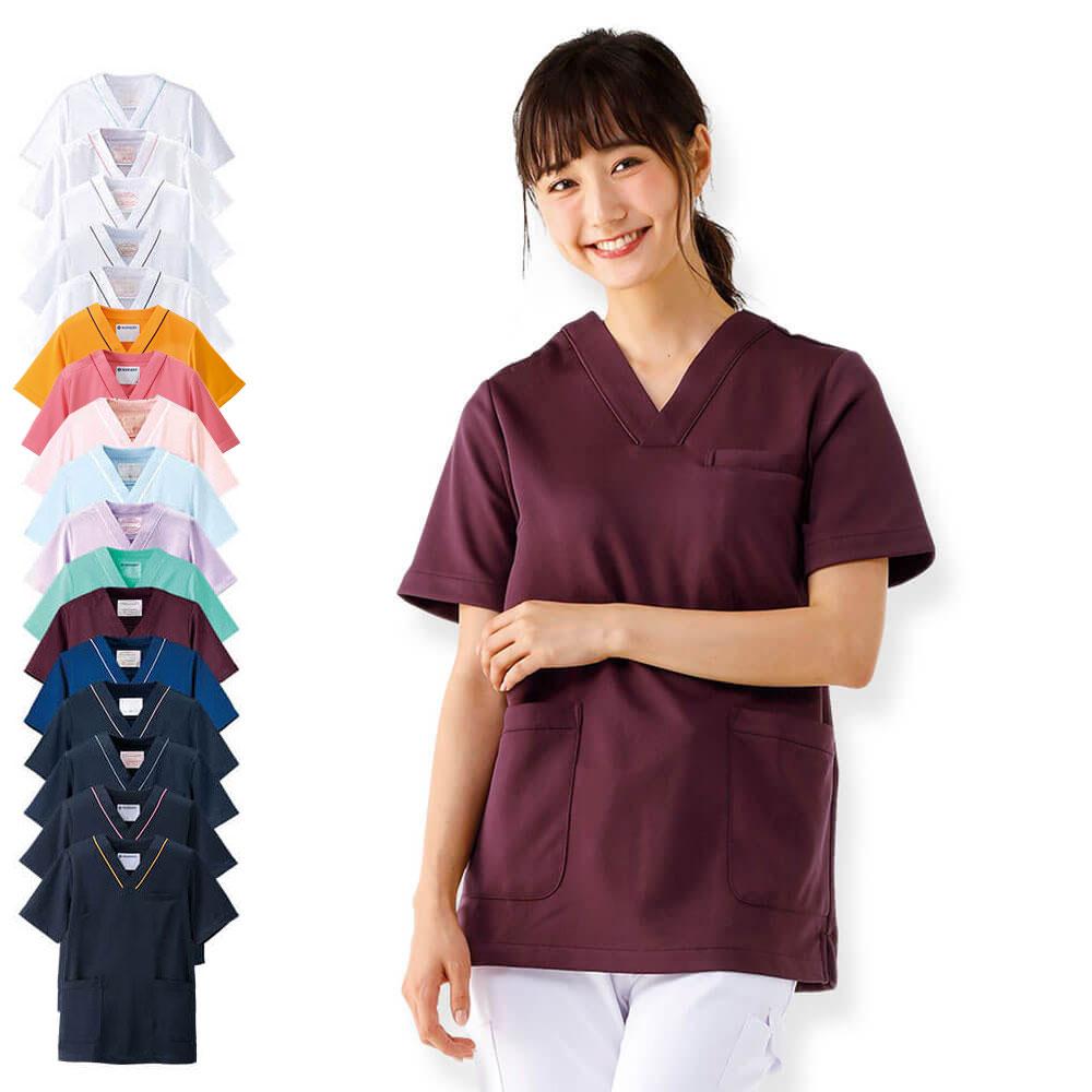 2300 マルチジャケット【医療 ナース 看護師 白衣 女性 スクラブ】