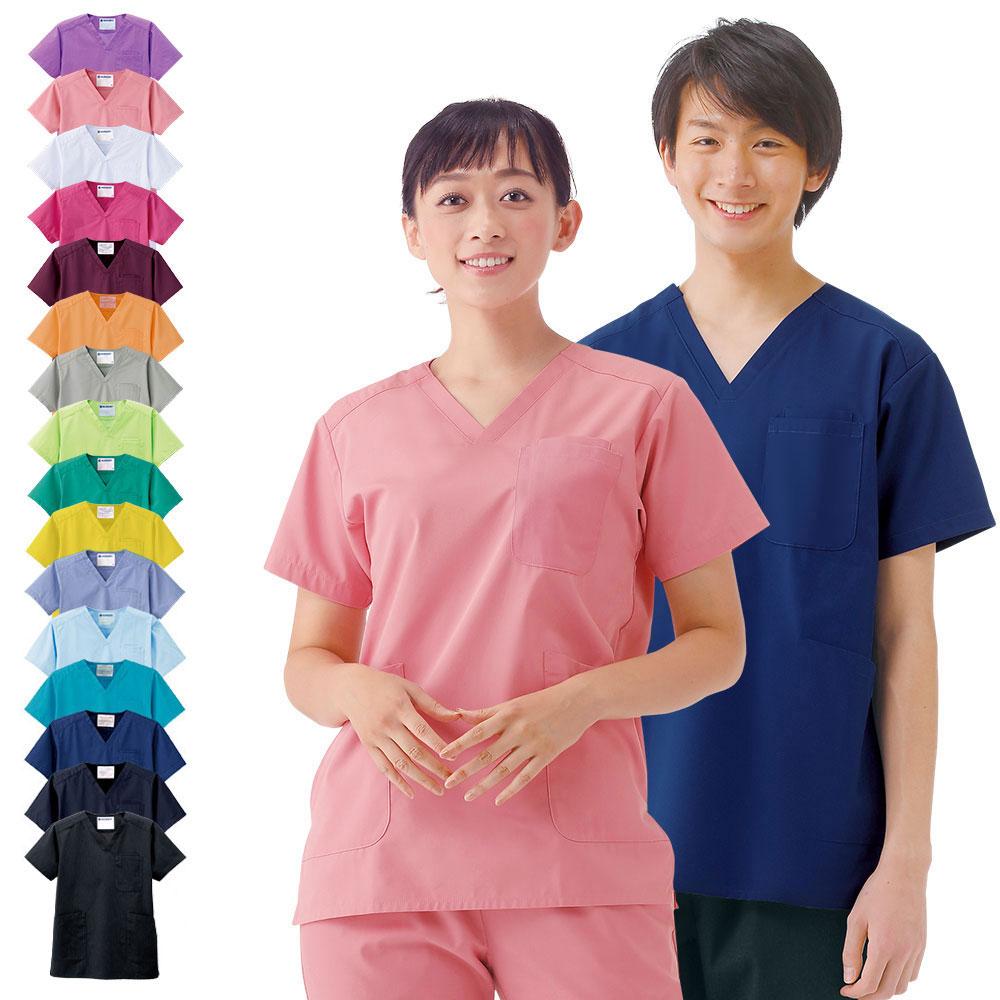 2305 ナースリースクラブ 【医療 ナース 看護師 白衣 レディース メンズ 女性 男性 男女兼用】