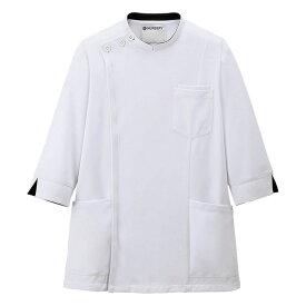 2488 アクティブストレッチ 7分袖ケーシージャケット(メンズ)【医療 ナース 看護 白衣 男性】
