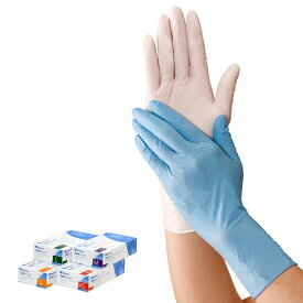 10625 セーフタッチニトリルグローブ パウダーフリー(100枚入)【ナース 看護 医療 介護 衛生 手袋 使い捨て 処理 予防】