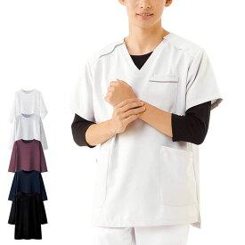 13312 スクラブインナー(7分袖)【医療 ナース 看護師 白衣 女性 男性 スクラブ 肌着 吸水速乾】