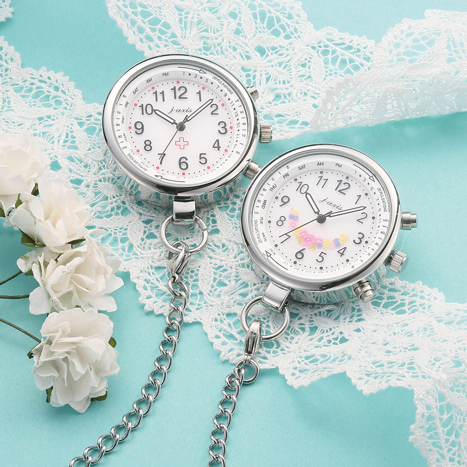 13695 電波式ナースウォッチ【ナース 小物 グッズ 看護 医療 ウォッチ 時計】
